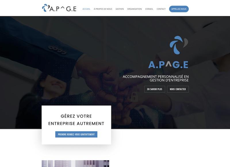 APGE ACCOMPAGNEMENT - création de site internet