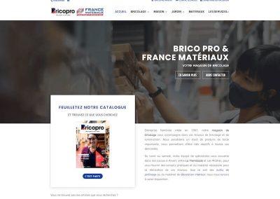 BRICOPRO, FRANCEMATÉRIAUX