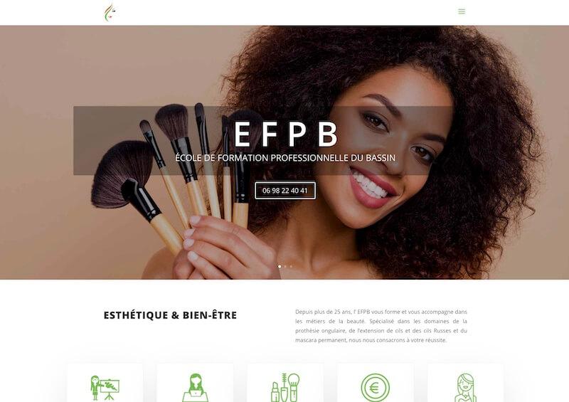 EFPB - création d'un site internet