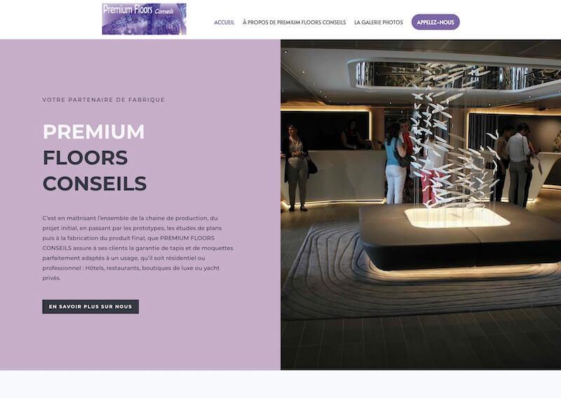 PREMIUM FLOORS CONSEILS - création de site internet