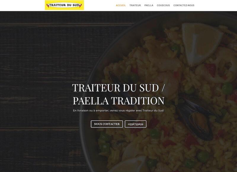 TRAITEUR DU SUD - création de site internet