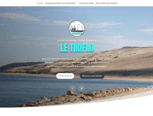 LE TIKIFLO - création de site internet