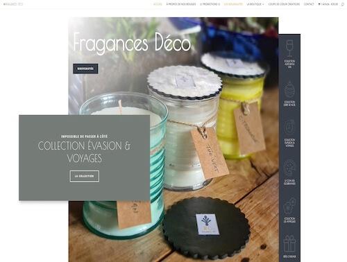 fragancesdeco - création site internet
