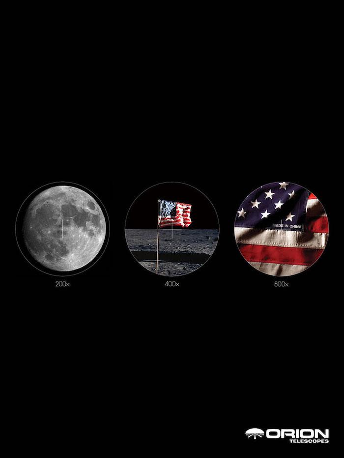 Annonceur - Orion Telescopes - Agence - Texas Creative, University of Texas, Etats-Unis