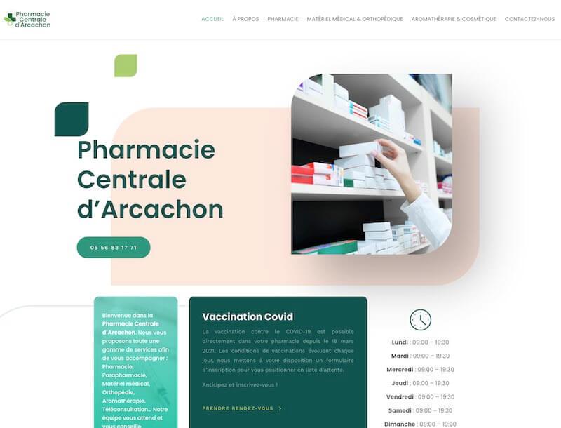 PHARMACIE CENTRALE D'ARCACHON
