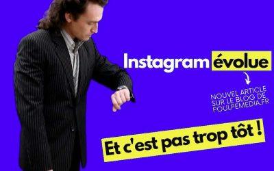 ENFIN INSTAGRAM AUTORISE LA PUBLICATION D'UN ORDINATEUR !